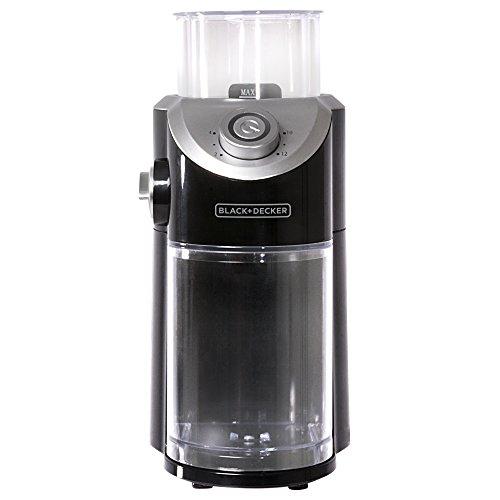 BLACK+DECKER CBM310BD Burr Mill Coffee Grinder, Black