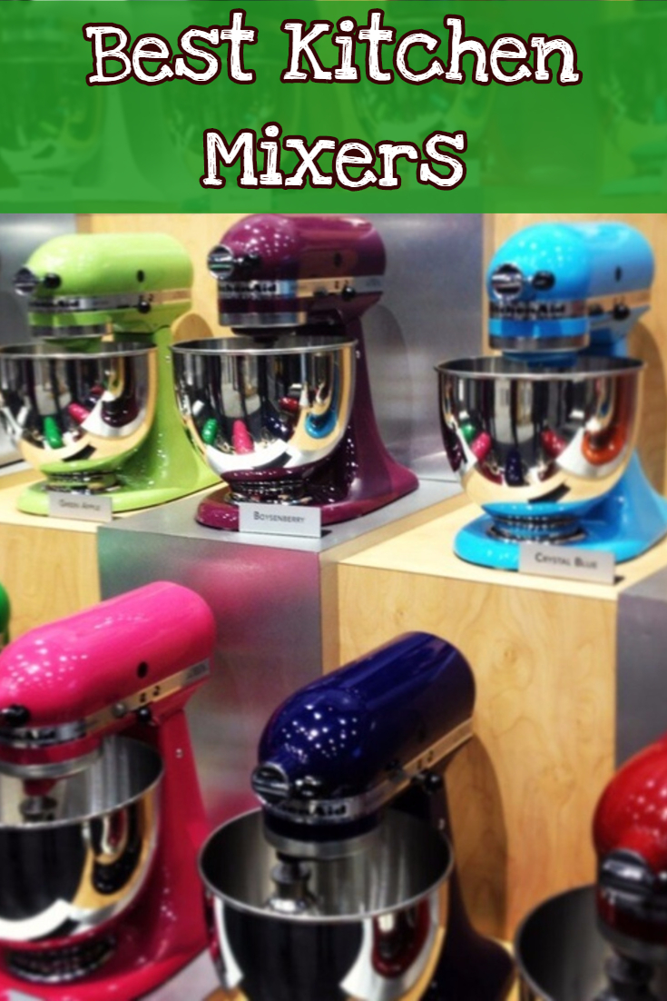 Best Kitchen Stand Mixers - A Good mixer review page sharing the top 3 kitchen mixers AND lots of easy stand mixer recipes
