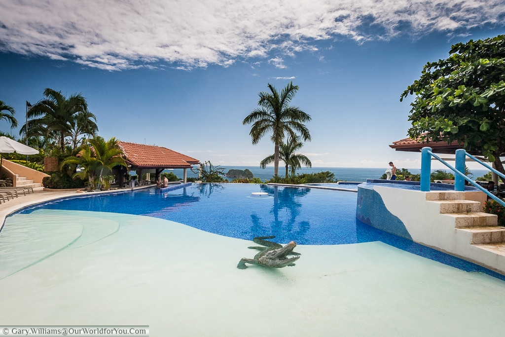 The pool at the Hotel Parador, Manuel Antonio, Costa Rica
