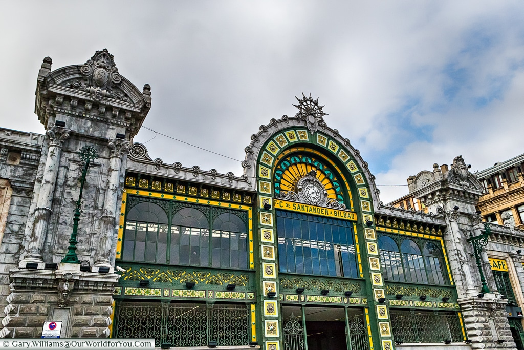 Bilbao railway station, Bilbao, Spain