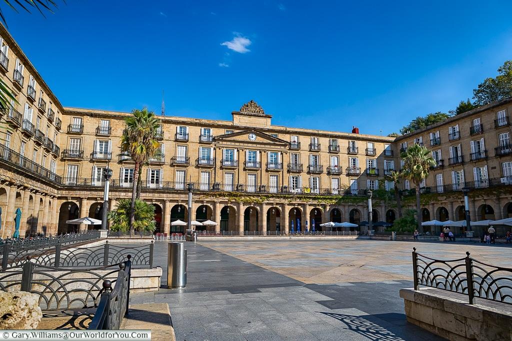 Plaza Nueva, Bilbao, Spain