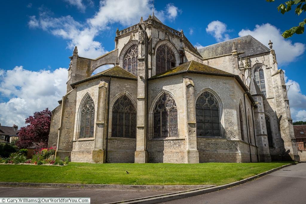 St Stephen's church, Bar-sur-Seine, France