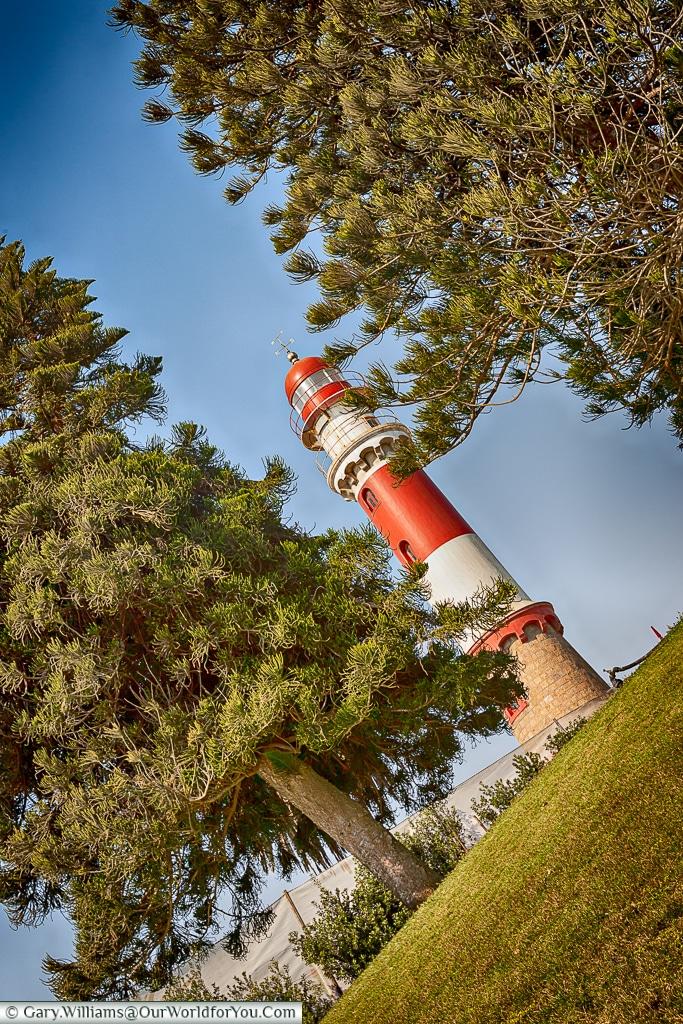 The lighthouse at Swakopmund, Namibia