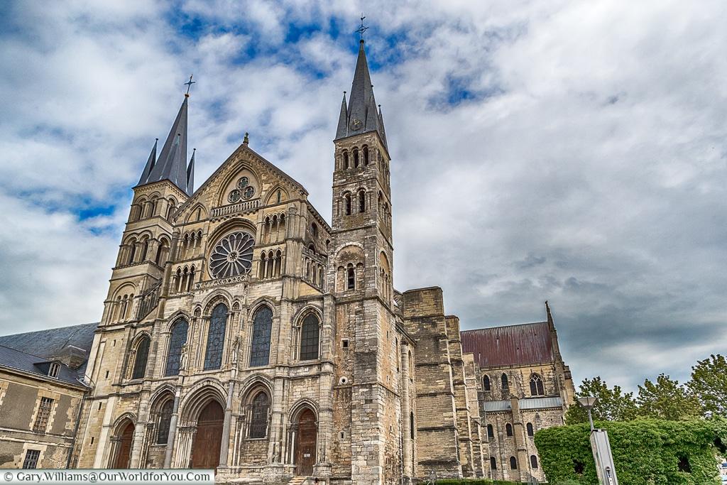 Basilique Saint-Remi, Reims, Champagne Region, France