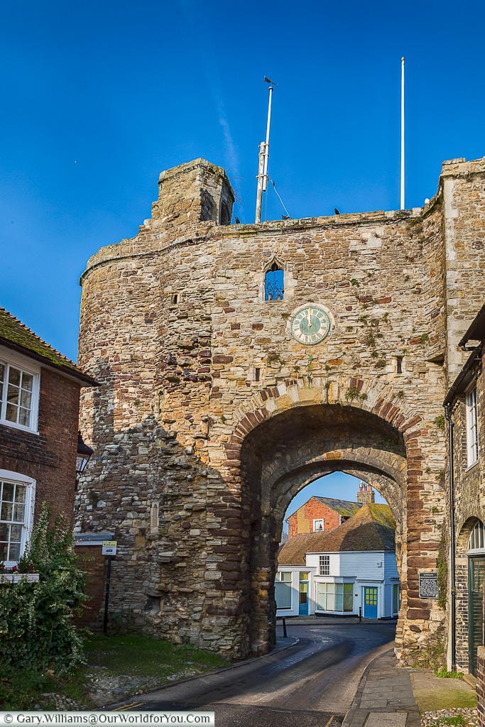 The Landgate, Rye, East Sussex, England, UK