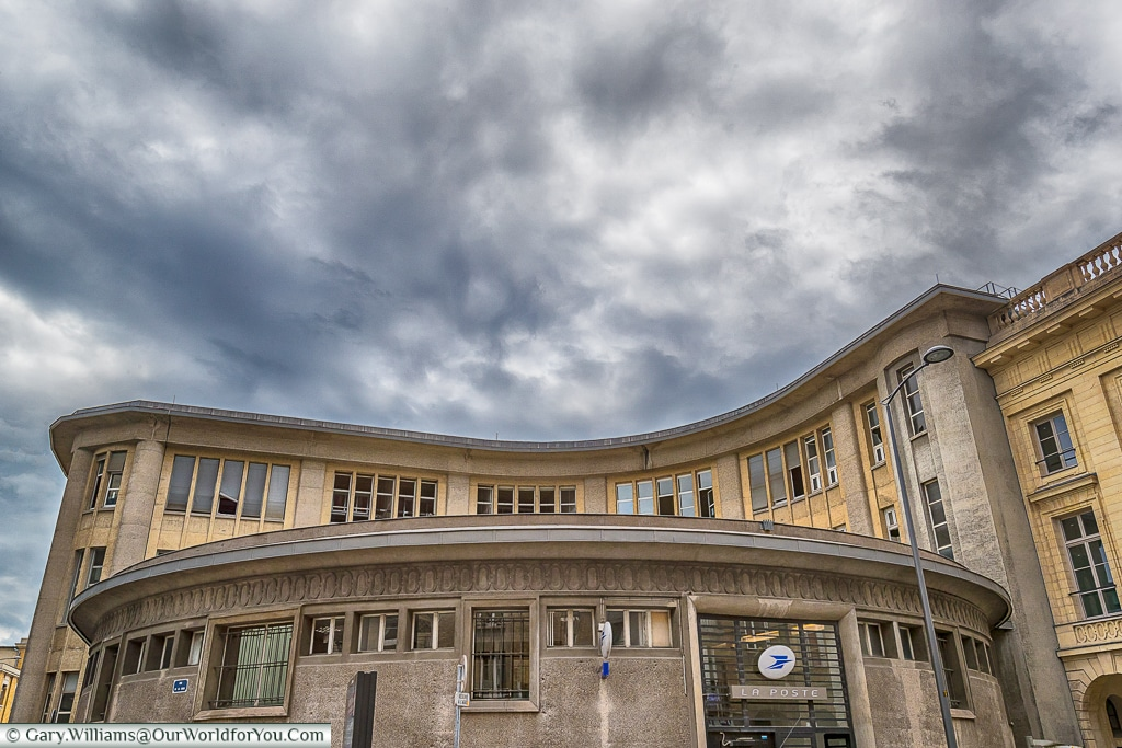 The Post Office, Reims, Champagne Region, France