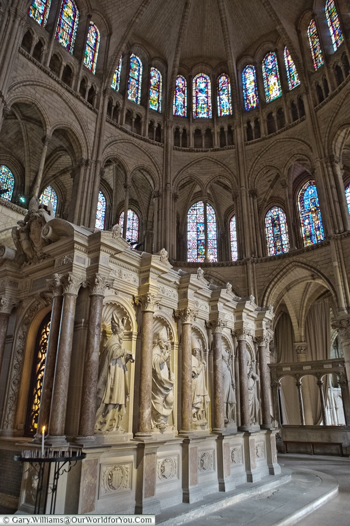 The tomb of Saint-Remi, Reims, Champagne Region, France