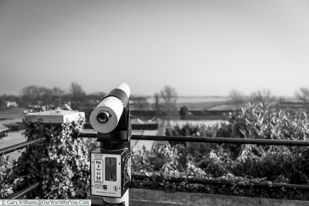 The view from the lookout, Rye, East Sussex, England, UK