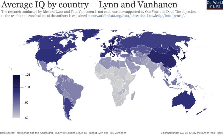Ourworldindata average iq by country v2