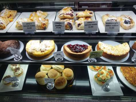 Café Bavaria cake display