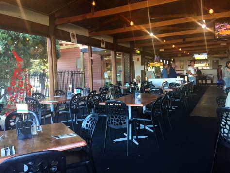 Marion Bay Tavern dining area