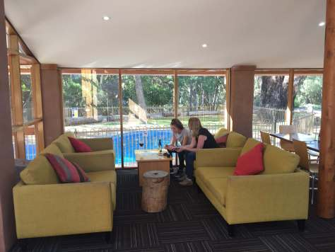 Lounge Area at Wilpena Pound Resort