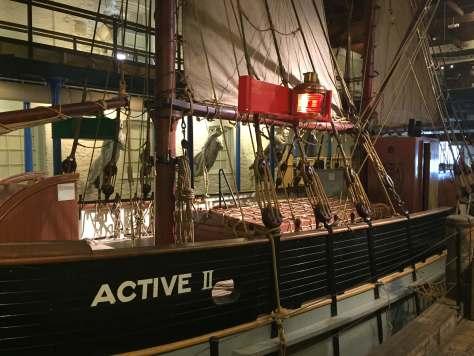 Maritime Museum's Ketch