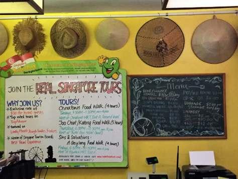 Real Singapore tours at Betel Box