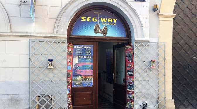 Sightseeing Krakow, Take a Segway Tour