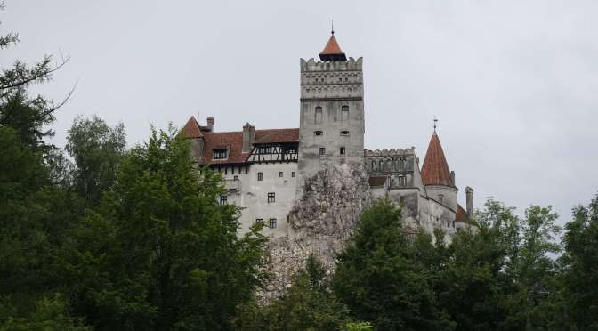 Bran Castle the home of Bram Stoker's Dracula
