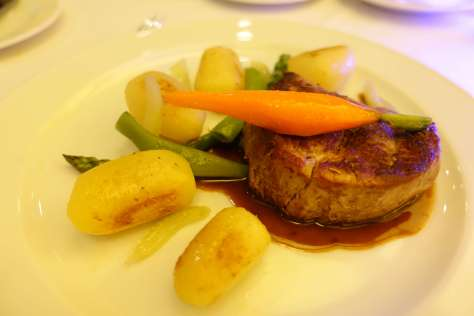 Sheraton Tirana Hotel/ Metropolitan Restaurant/ Beef Fillet/ Tirana / Albania