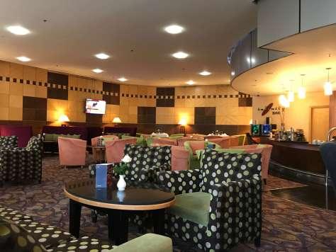 Sheraton Tirana Hotel's Infinity Bar.