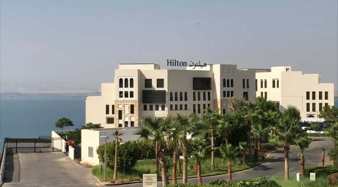 Indulging at the the Hilton Dead Sea Resort