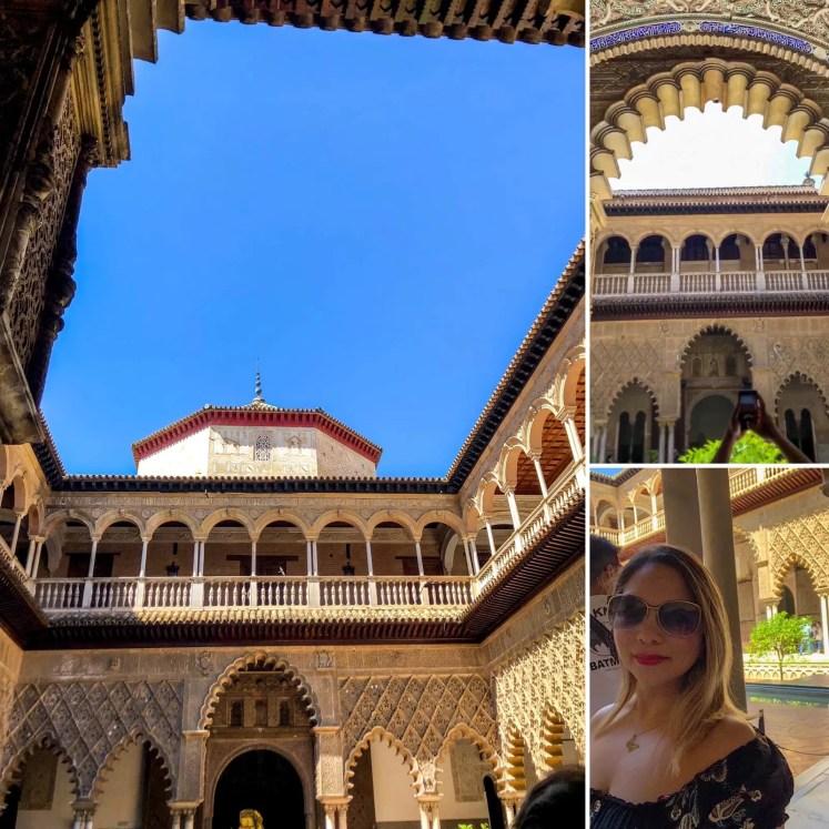 Pátio das Donzelas do Rela Alcázar de Sevilla
