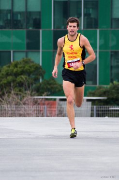 Mens 10km run winner. I had underestimated how fast these athletes can move, so will crank my ISO up further in future to get a faster shutter speed (it was an overcast day).
