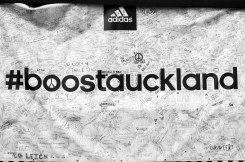 Adidas wall of signatures