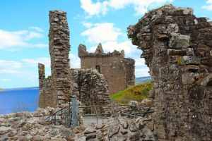 Urquhart Castle Ruined Tower