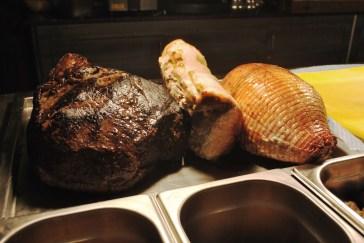 Beef, Pork, Turkey
