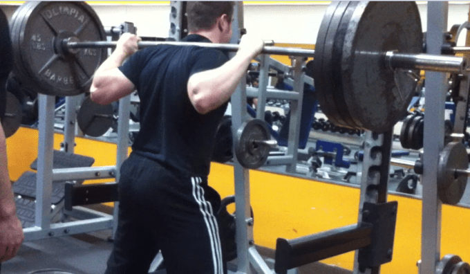 405 squat
