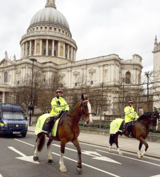 The experienced City of London Police horses and their riders are also in demand for ceremonial duties and took part in the procession when the remains of Richard III, discovered under a Leicester car park, were reinterred in Leicester Cathedral