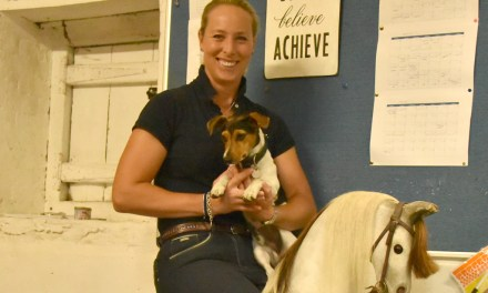 Trainer Hannah Biggs talks about the serious fun of dressage