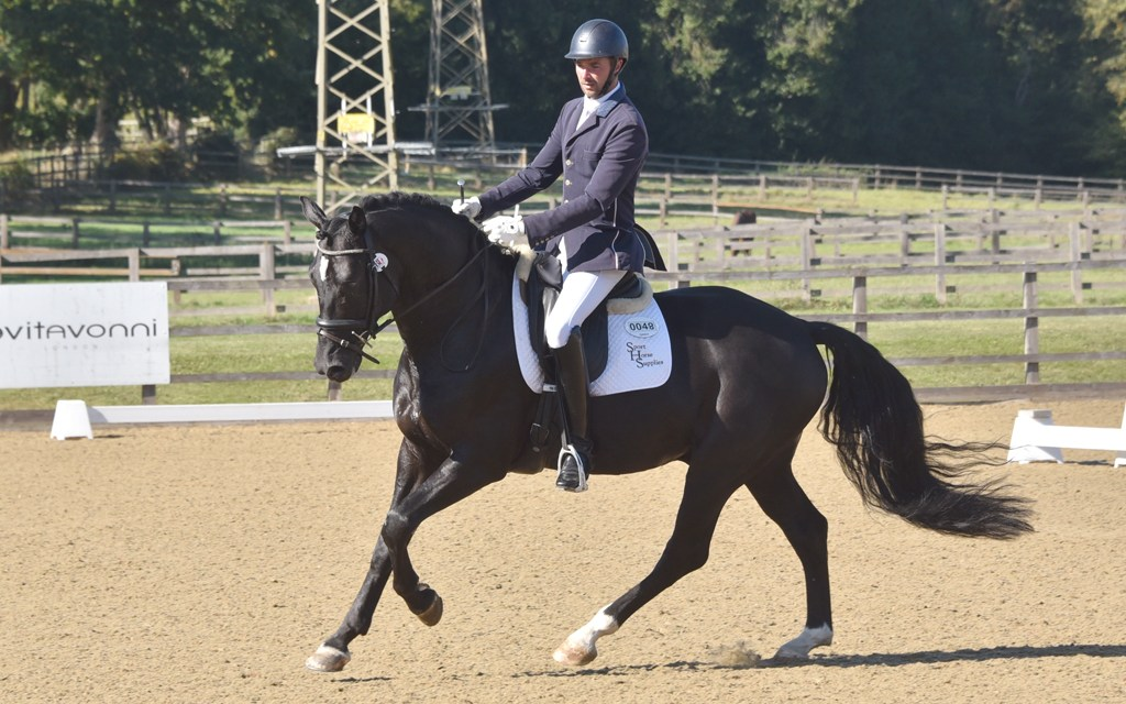 Dressage results: Parwood, Surrey, 27 September