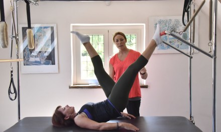 Targeted Pilates 2 — Walk work-out in the Pilates studio