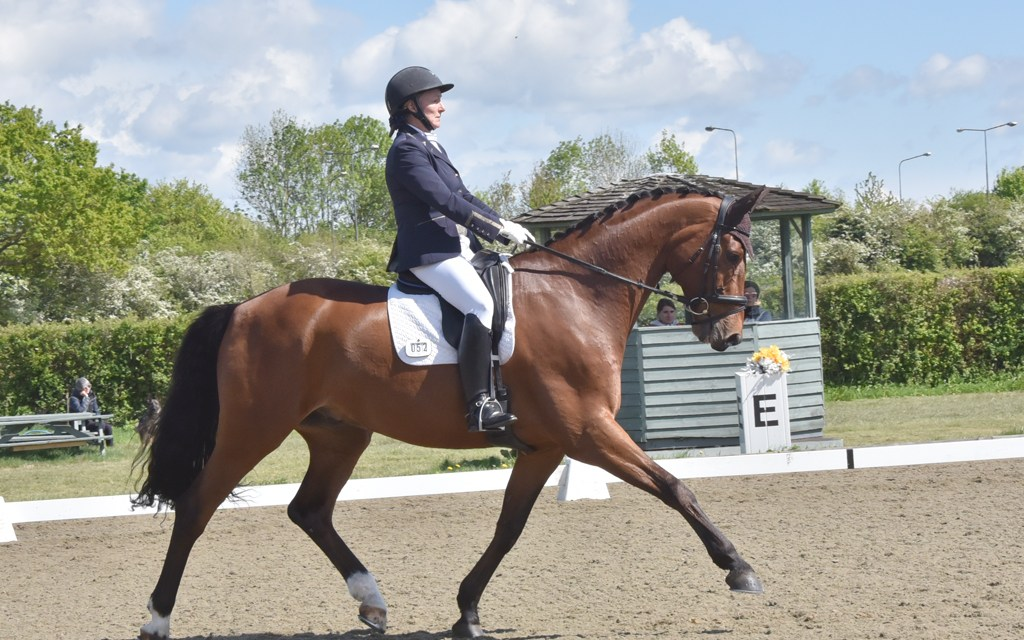 Dressage results: Parwood, Surrey, 9 May 2019