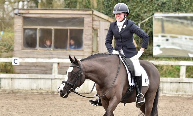 Awesome Ponies' partner Rain Dance steps up to advanced