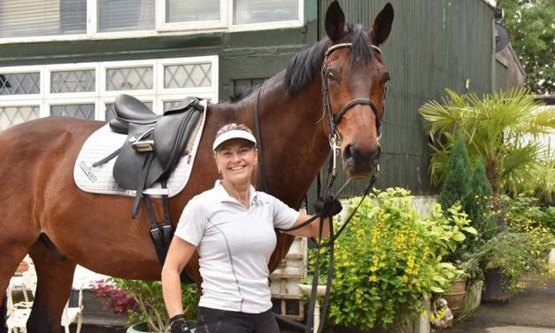 Eye-catching mercurial Jazz made rider and trainer Sarah Williams