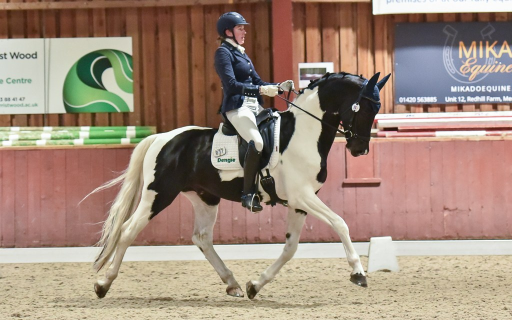 Dressage results: Sparsholt, Hants, 18 December 2020