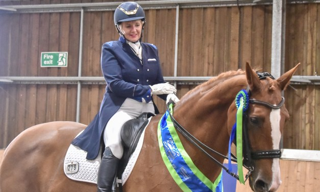 Winners at Dressage Summer Area Festival celebrate in style, part 1