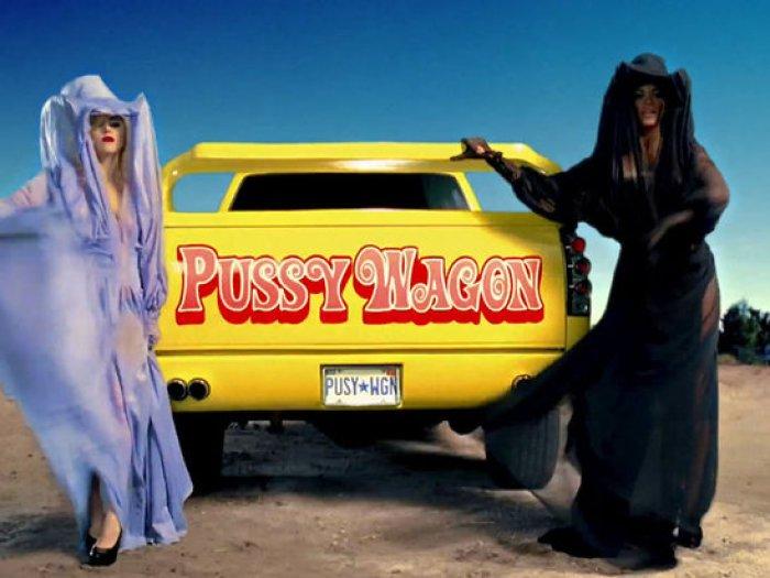 lady-gaga-beyonce-pussy-wagon