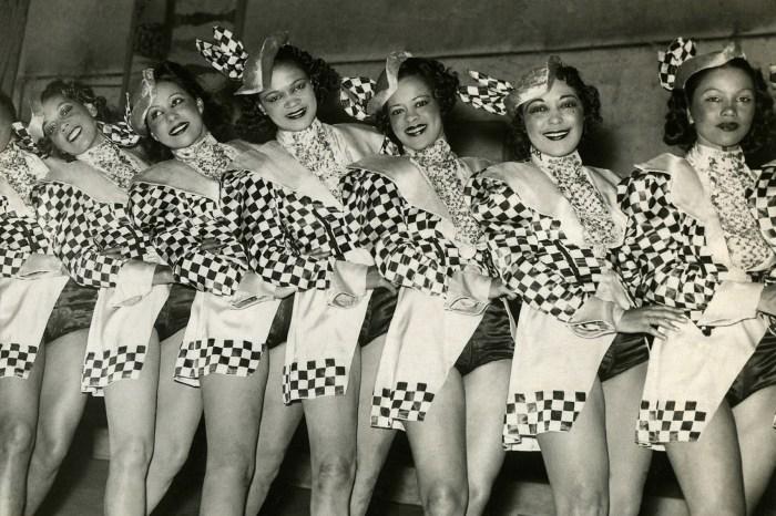 The Apollo Dancer sat the Cotton Club Revue in 1938.