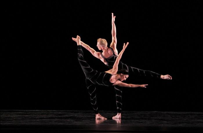Parisa Khobdeh and Michael Trusnovec in Promethean Fire
