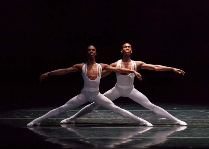 DANCESTL, Dance Theatre of Harlem, Anthony Savoy and Fredrick Davis, Photo by Sharen Bradford