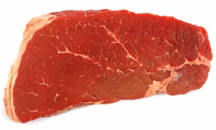 111121 Beef Top Round London Broil Cut in Half