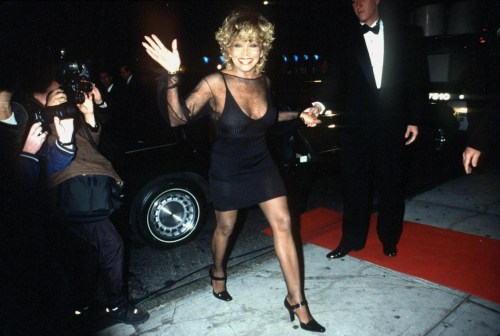 Tina Turner Arrives At The Vh1 Divas Live '99 Concert At The Beacon Theater