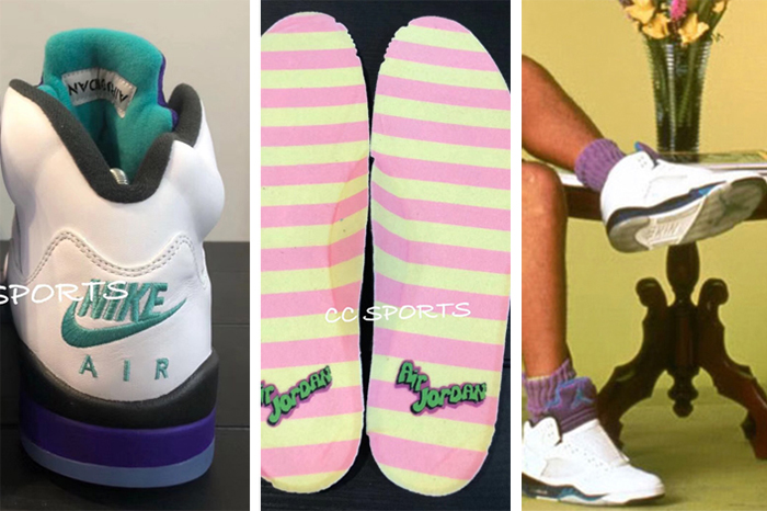 """9 11 18 O A NYC WITH WaleStylez FASHION Will Smith Unboxes His Upcoming Air  Jordan 5 """"Fresh Prince"""" Friends Family – Out   About NYC Magazine 1205e46bf"""