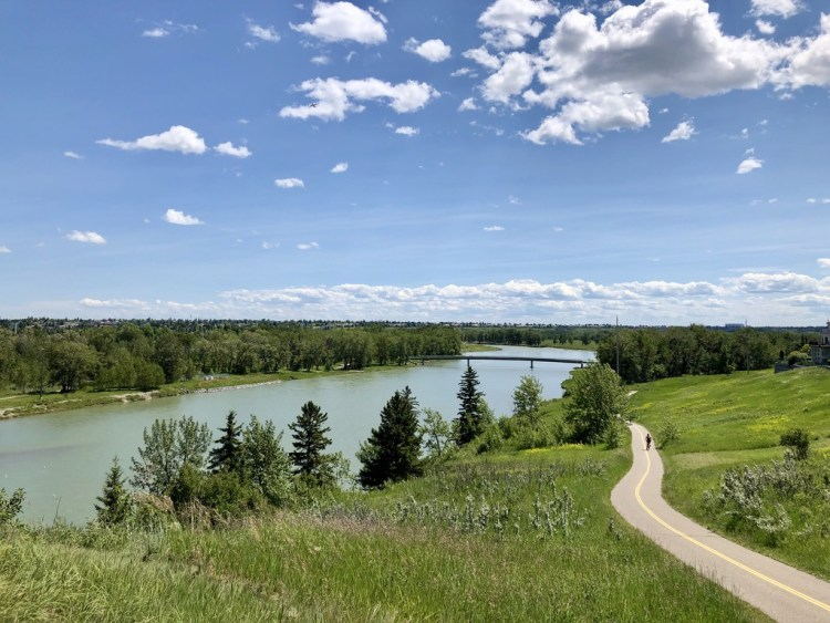 Best Bike Paths in Calgary