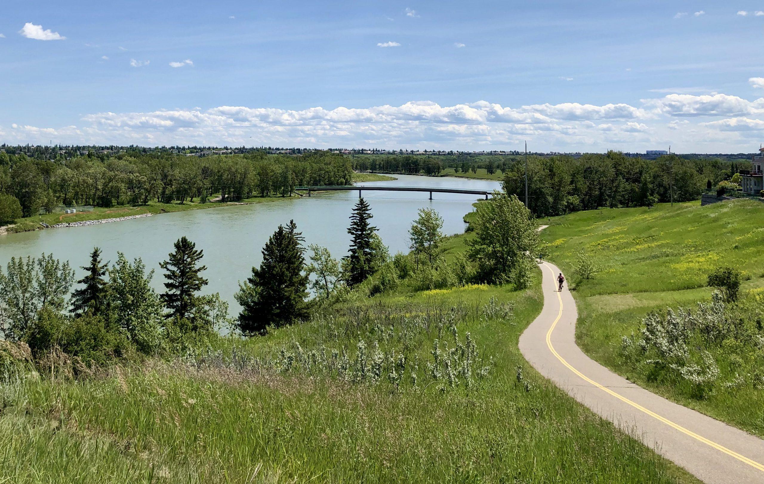 5 of the Best Bike Paths in Calgary, Alberta via @outandacross