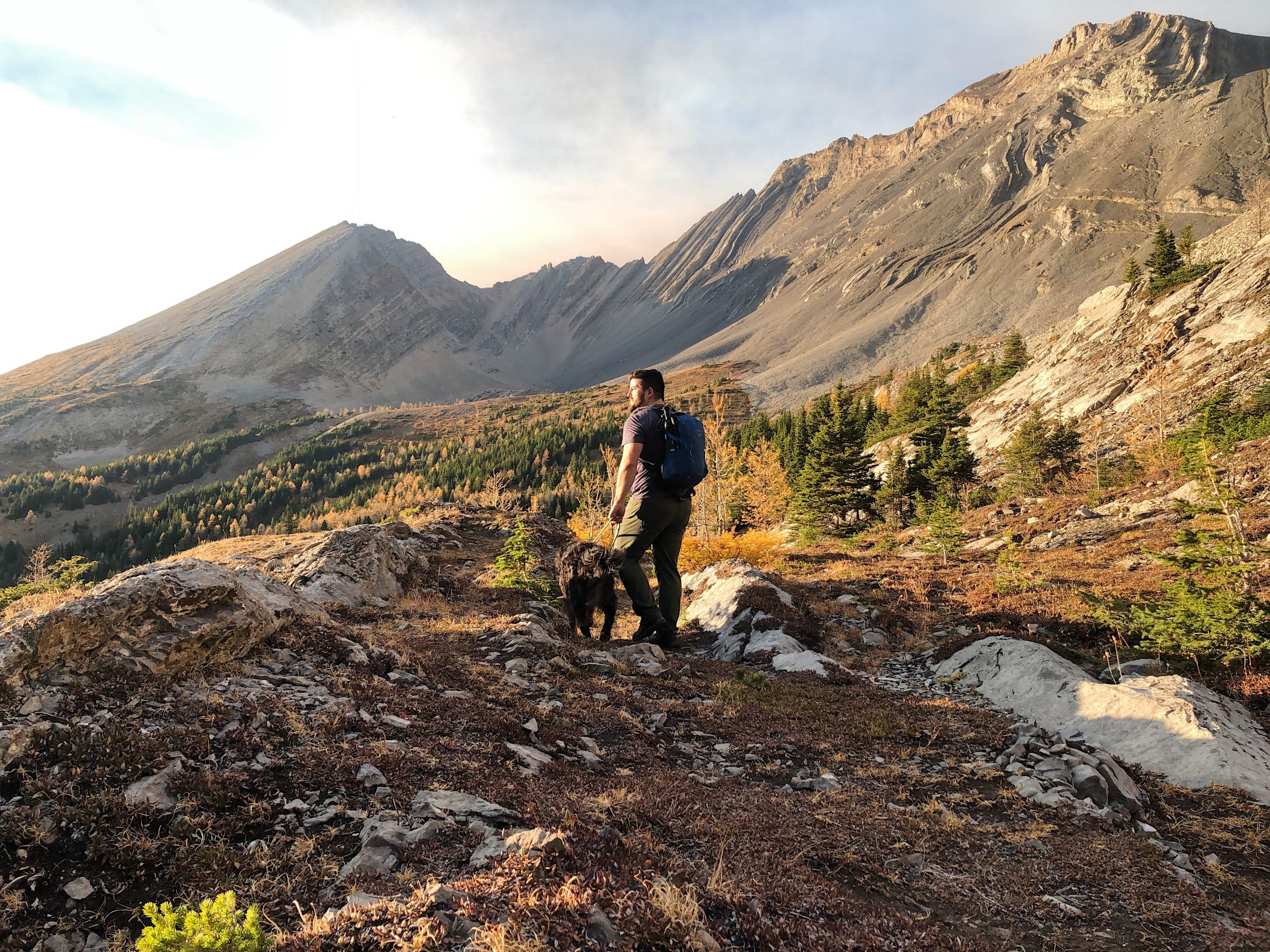 The Arethusa Cirque Hike in  Kananaskis Country is Perfect for Autumn via @outandacross