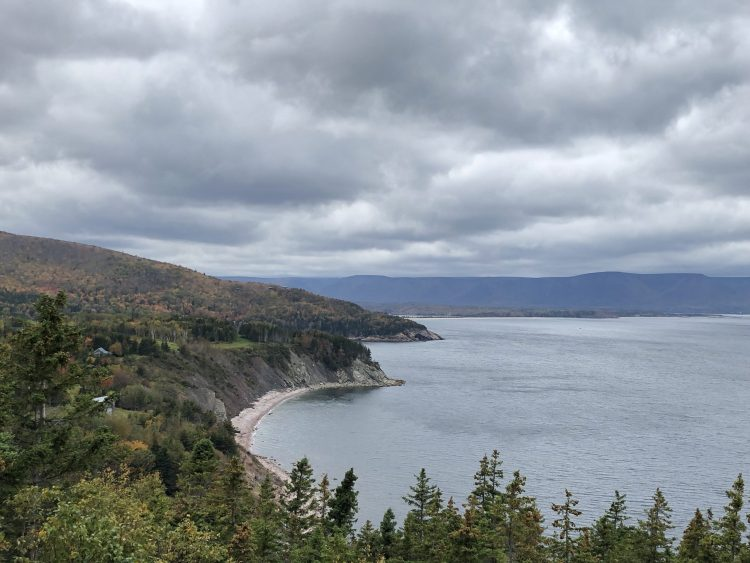 Beautiful views while driving the Cabot Trail