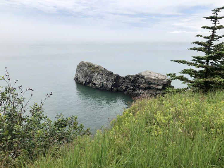 Split Rock trail in NB